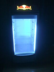 Red Bull Fridge Refrigerator Cooler Redbull Energy Local Pick Up Only No Tax