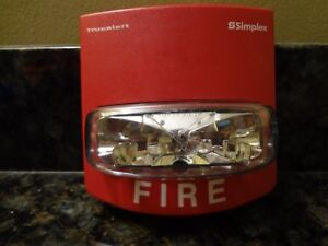 Simplex 4904 9168 Fire Alarm Strobe 15 Candela Output Non addressable