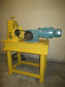 Industrial Copper Scrap Wire Stripper Stripping Machine 3 Hp Reversing Motor