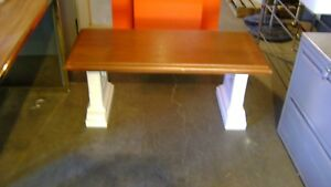 Store Display White Table Riser Base White Low Table Bench