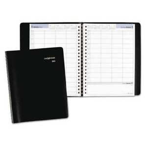7 7 8 X 11 Desk Calendar Refill Black At a glance G560 00