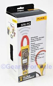 Fluke 376 Fc True rms Ac dc Clamp Meter With Iflex New In Box Msrp 475