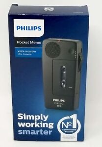 Philips Lfho388 Portable Pocket Memo Mini Cassette Voice Recorder player new