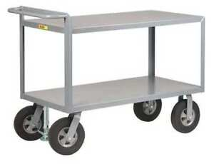 Utility Cart steel 42 Lx24 W 1500 Lb Little Giant G243610srfl
