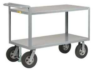 Utility Cart steel 54 Lx30 W 1500 Lb Little Giant G304810srfl