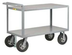 Utility Cart steel 66 Lx30 W 1500 Lb Little Giant G306010srfl