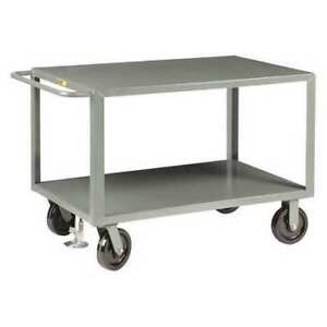 Little Giant Gh8v22fl Steel Utility Cart 5000 Lb Capacity 53 1 2 l X 24 w