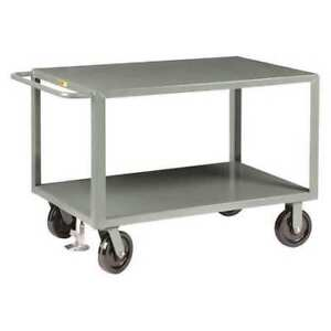 Little Giant Gh8v21fl Steel Utility Cart 5000 Lb Capacity 41 1 2 l X 24 w