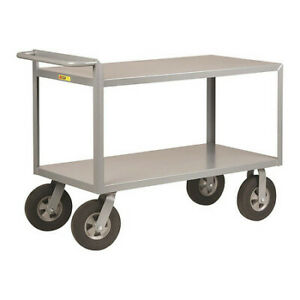 Little Giant G244810sr 12 Ga Steel Utility Cart 1500 Lb Capacity 54 l X 24 w