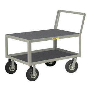 Little Giant Lk24369pm 12 Ga Steel Vinyl shelf Utility Cart 1200 Lb Capacity