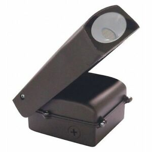 Led Adjustable Wall Pack 20 Watts Bronze Finish Photocell In Nuvo 65 102