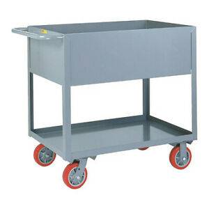 Little Giant Ds2436x126py 12 Ga Steel Utility Cart 3600 Lb Capacity 42 l X