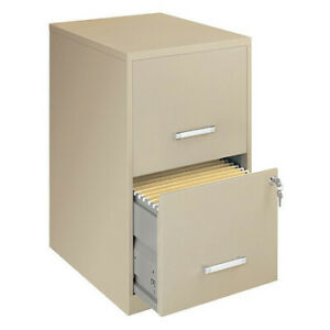 Lorell Llr14340 Soho 18 2 drawer File Cabinets putty