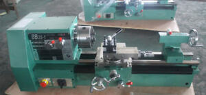 220v Bb25 1l Cnc Small Precision Lathe Matal Lathe Machine Three jaw Chuck
