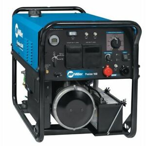 Engine Driven Welder fusion 160 Series Miller Electric 907720001