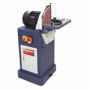 DAYTON 400H38 Disc Sander115 Voltage16