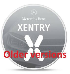 Mercedes Benz Star Diagnostic Das Xentry Passthru Program Older Versions