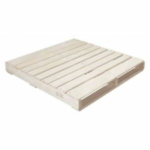Partners Brand Cpw4242h New Wood Heat Treated Pallet 42x42 natural Wood pk10