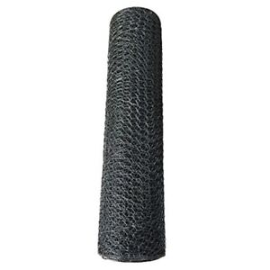 Black Vinyl Coated Poultry Netting Hexagonal Wire Roll Gauge Garden Fencing