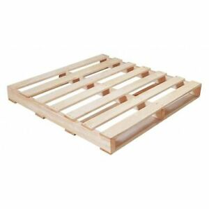 Partners Brand Cpw4242r 1 Recycled Wood Pallet 42x42 natural Wood pk10