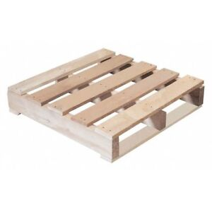 Partners Brand Cpw2424r 1 Recycled Wood Pallet 24x24 natural Wood pk10