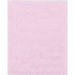 Anti static Flush Cut Foam Pouches 8 x10 pink pk275 Partners Brand Fp810as
