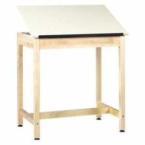 Diversified Woodcrafts Dt 9a37 Drafting Table 36 x24 adjstable Surface