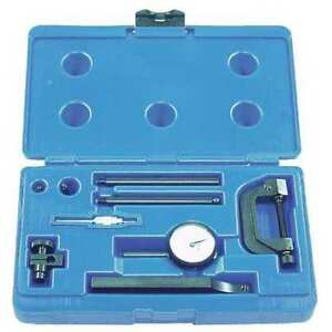 Central Tools 6402 Dial Indicator Test Kit 5 0mm