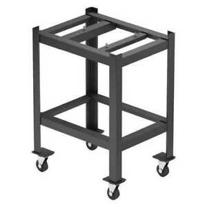 Zoro Select Tbl12x18ctb Surface Plate Stand 12in w mobile 18in l