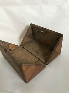 Antique Treadle Singer Sewing Machine Attachments With Puzzle Box