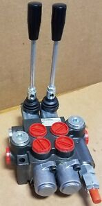 Brand New Two Spool Hydraulic Directional Control Valve 10 Gpm Rating