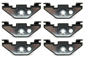 New Set 6 Hard Top Mounting Retainer Nuts Clips For 2007 2017 Jeep Wrangler Jk