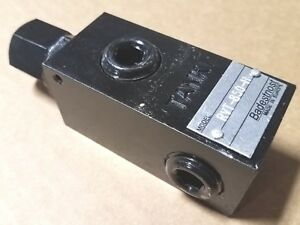 Brand New High Pressure Hydraulic Relief Valve 1 2 Nptf Ports 16 Gpm Rating
