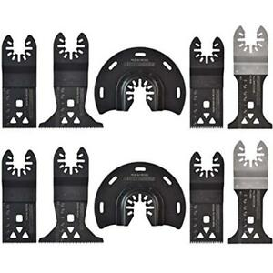 10 Pieces Wood drywall Oscillating Saw Blades Combination For Tool 2day Ship