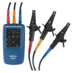 Reed Instruments R5004 Motor Rotation And 3 phase Tester