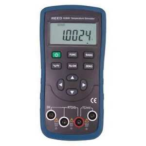 Reed Instruments R2800 Temperature Simulator thermocouple And Rtd