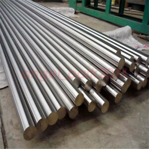 2pcs 10x500mm Titanium Ti Tc4 Grade 5 Gr5 Metal Rod Diameter 10mm Length 500mm