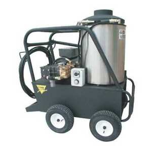 Heavy Duty 4000 Psi 4 0 Gpm Hot Water Electric Pressure Washer Cam Spray 4000qe