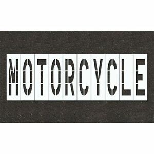 Pavement Stencil motorcycle Rae Stl 108 74816