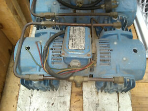 Thomas 3 Phase Air Compressor Pump one Of Two Read Carefully Before Bidding