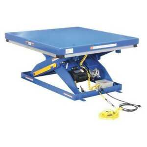 Electric Hydraulic Lift Table 4k 48x48 Vestil Ehlt 4848 4 43 qs