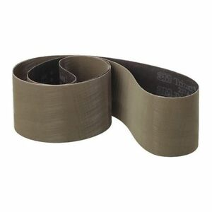 2 X 48 Coated Sanding Belt 80 Grit Pk50 3m 60440173890