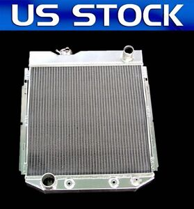 3 Row Aluminum Radiator Fit 1960 1965 Ford Falcon Ford Mustang Mercury Comet L6