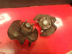 95 96 97 Mazda Miata Front Brake Knuckle Spindle Pair Both Oem Without Abs
