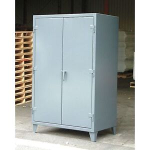 Strong Hold 46 304 Storage Cabinet 12 Ga 78 In H 48 In W
