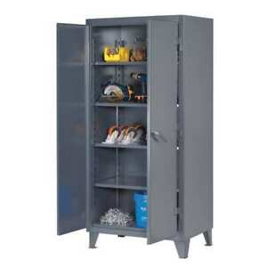 Strong Hold 36 204 Storage Cabinet 12 Ga 78 In H 36 In W