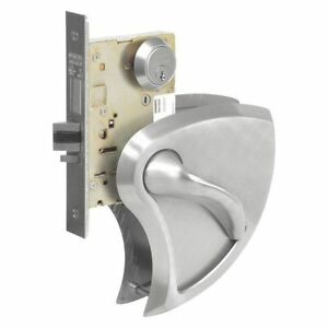 Mortise Lock lever classroom Intruder Sargent Sg 8239bhw 32d Lhr 2 Cylinders