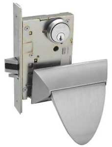 Mortise Lock push pull classroom Sargent Sg 8238alp 32d Lhr 2 Cylinders