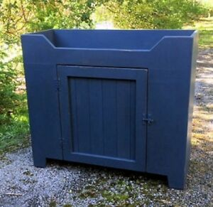 Primitive Handcrafted Cupboard The Strafford Dry Sink