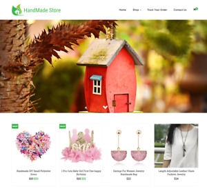 Handmade Store Turnkey Website Business For Sale Profitable Dropshipping